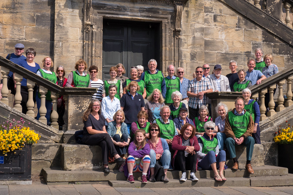 Group of volunteers at Linlithgow