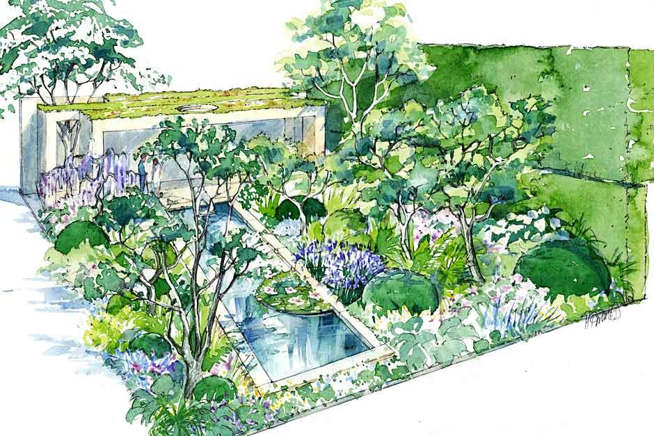 Chelsea flower show corporate hospitality