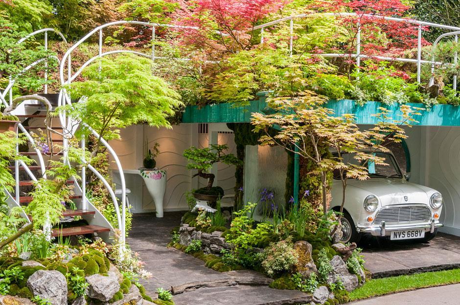 Senri-Sentei - Garage Garden