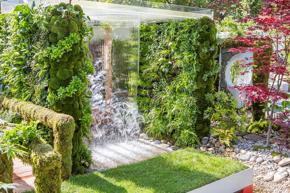 The cloudy bay garden at the rhs chelsea flower show 2015 for Chelsea flower show garden designs