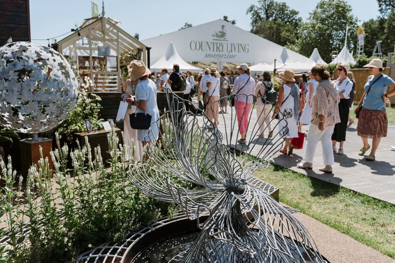 Shopping options at Hampton Court Palace Garden Festival