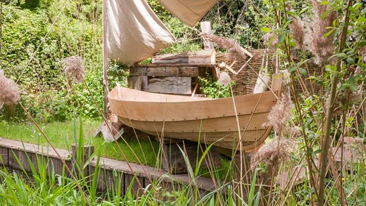 The IBTC Lowestoft Broadland Boatbuilder's Garden