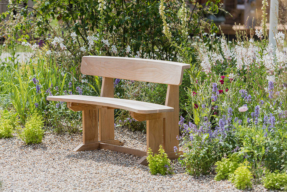 Seating in the Drought Tolerant garden