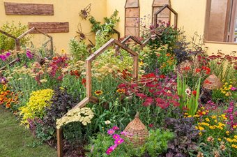 Back To Back Gardens At RHS Flower Show Tatton Park RHS - Pictures of back gardens