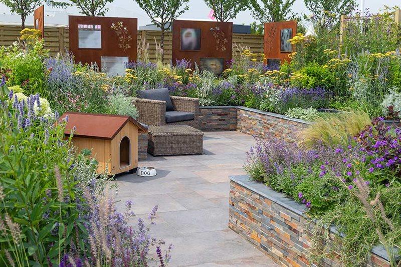 The RNIB Community Garden