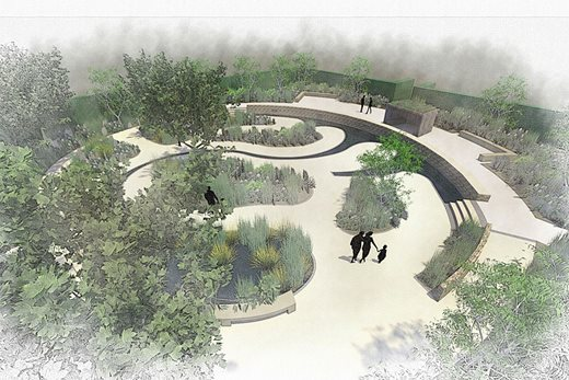 Plans for the Spiral Garden