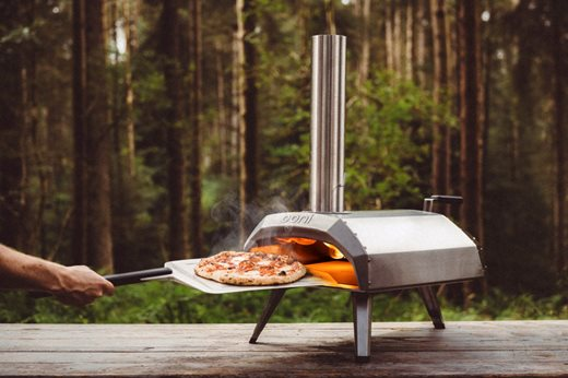 Ooni Karu wood and charcoal-fired pizza oven