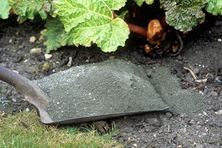 Wood ash - using in the garden