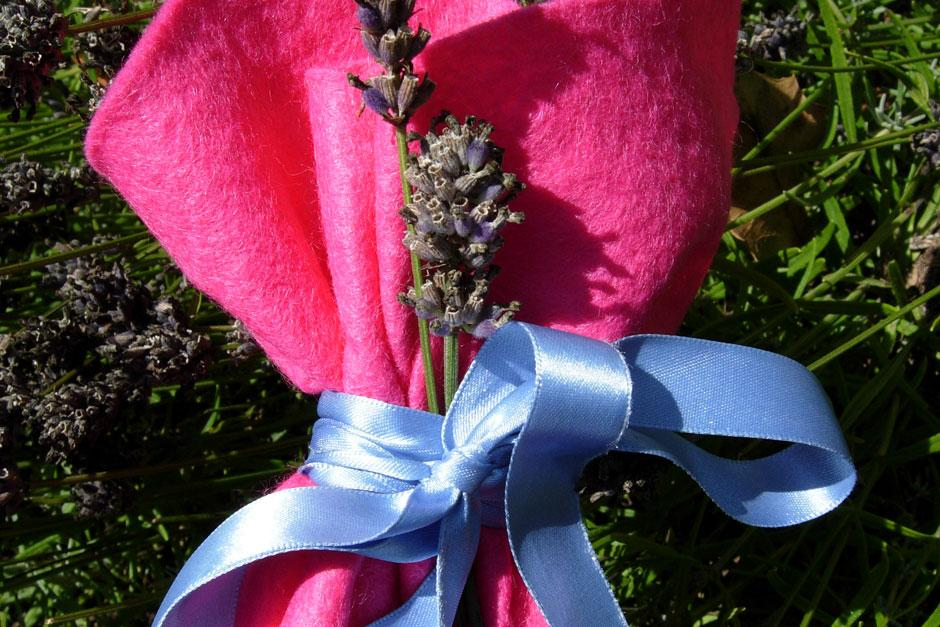 Make lovely lavender bags