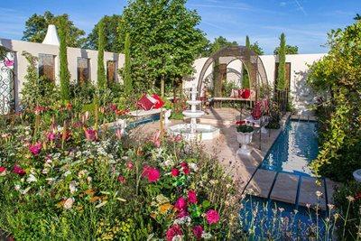 garden shows. 1 Jul, 2018 - 7 2018. RHS Hampton Court Palace Flower Show Garden Shows O