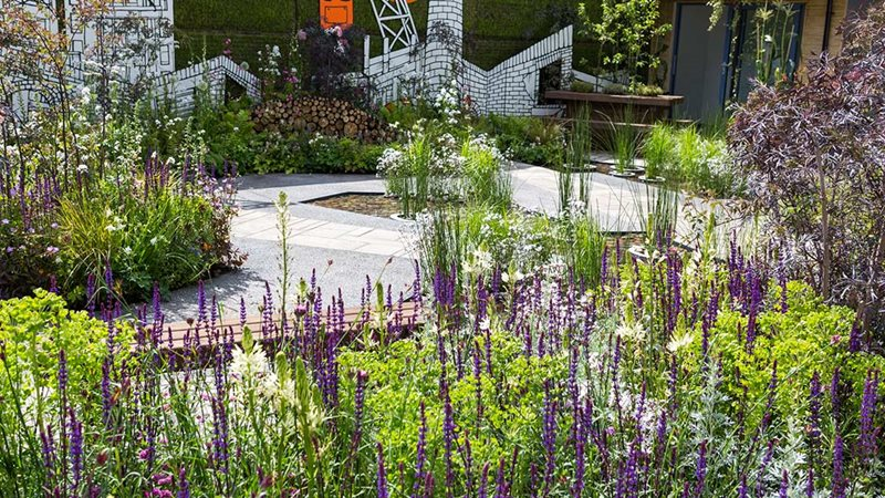 Green Grey Britain Garden at Chelsea 2017