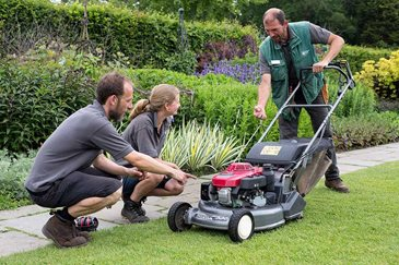 lawn mowing instruction