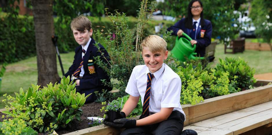 School Gardening Team of the Year 2018