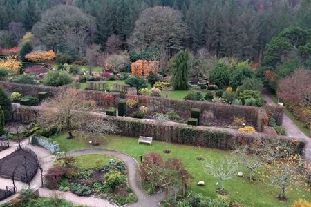 Rosemoor from above