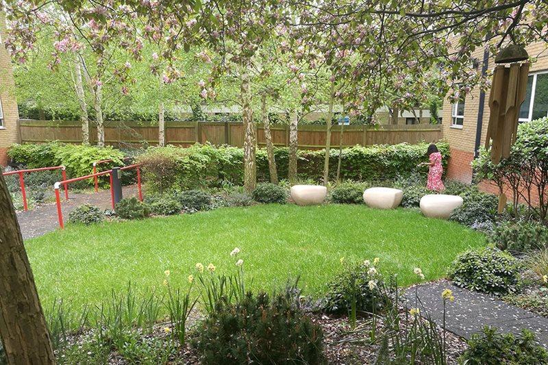 RHS Chelsea Garden goes to NHS Camden & Islington Foundation Trust / RHS Gardening