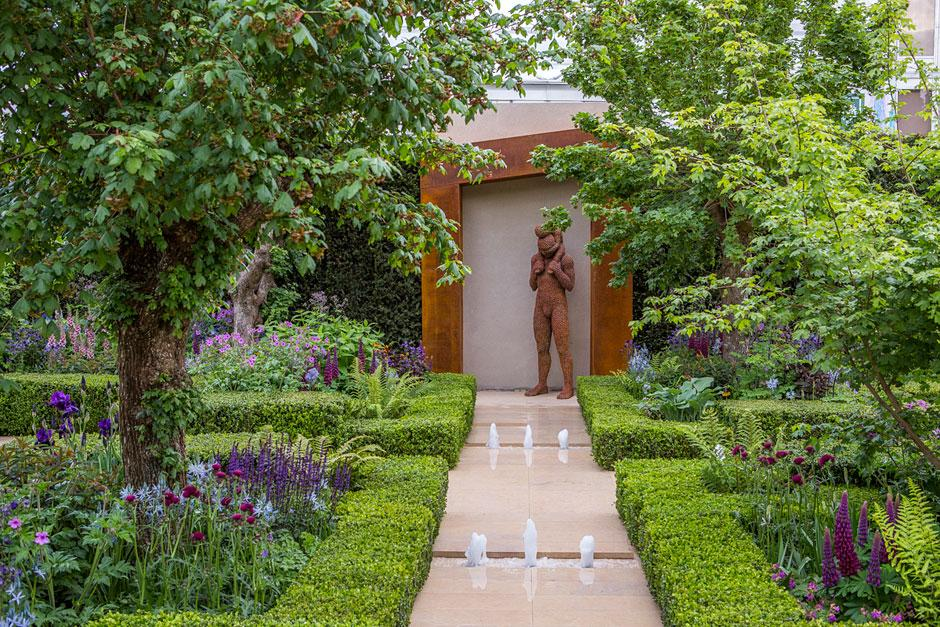 The healthy cities garden at the chelsea flower show 2015 for Chelsea garden designs