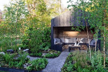 All About The Twin City Gardens At The Rhs Flower Show Cardiff 2014 Rhs Gardening