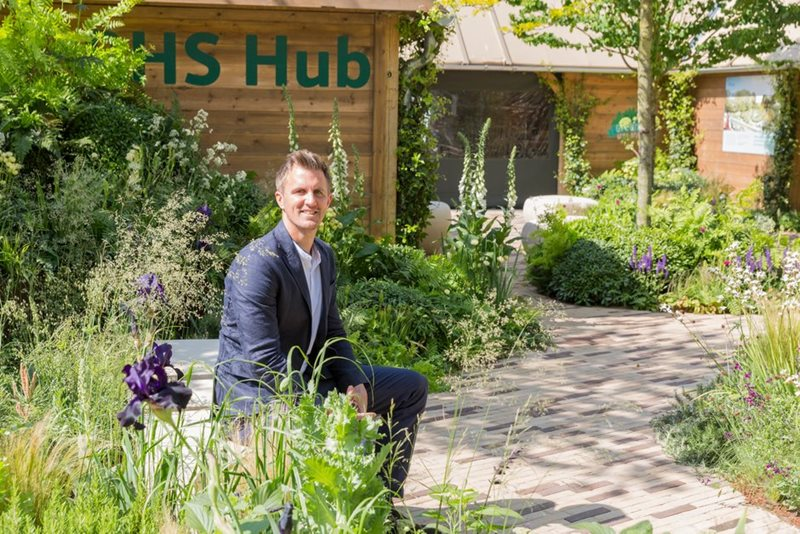 Matt Keightly on his RHS Feel Good Garden
