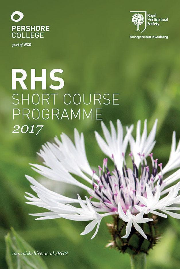 RHS Short Course Programme at Pershore College