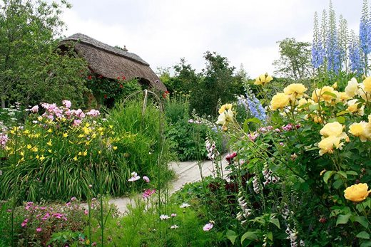 The Cottage Garden in summer