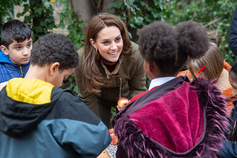 The Duchess of Cambridge at King Henry's Walk