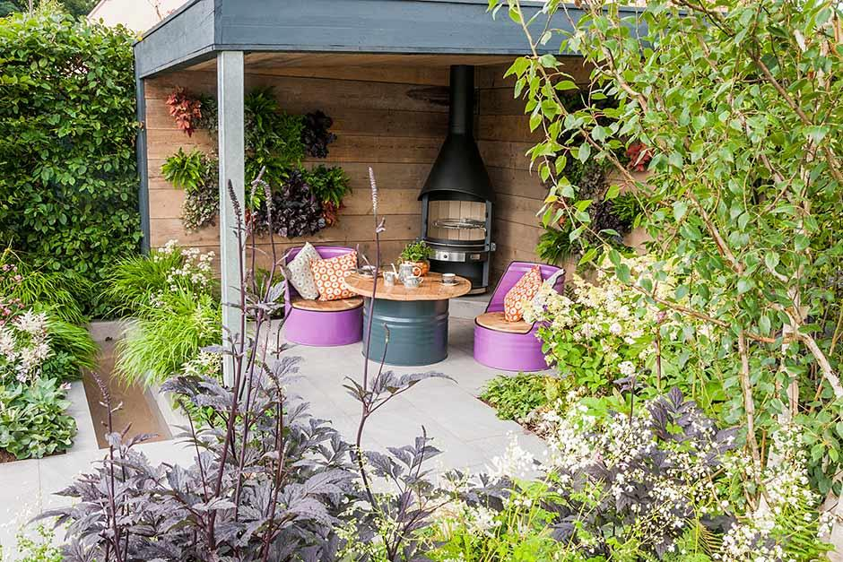 Garden design ideas choose what style you 39 d like for your for Small garden planting ideas