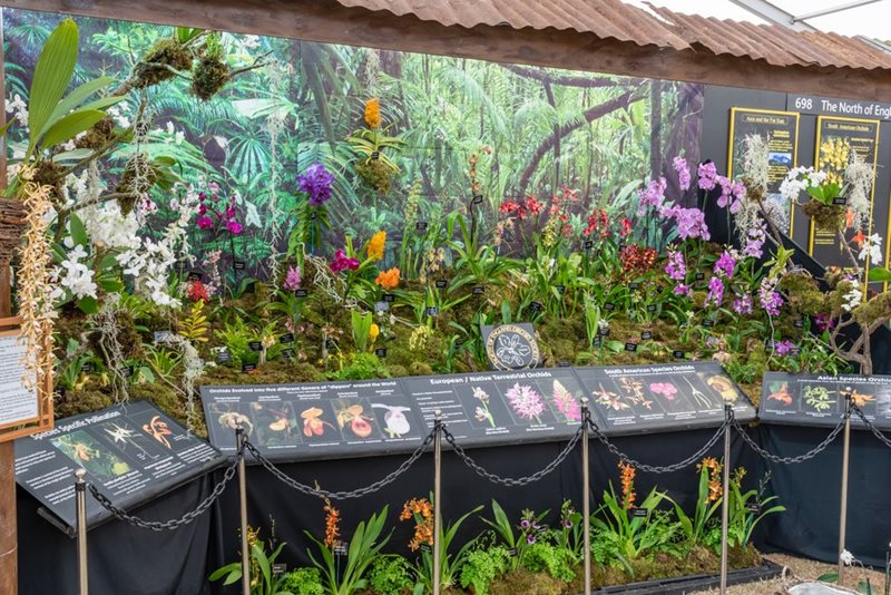 A display in the Plant Village