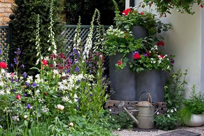 Learn How To Create Attractive And Productive Container Displays For All Year Round Interest Planting Small Plug Plants