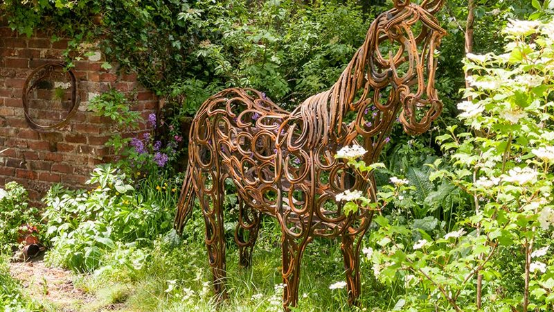 World Horse Welfare Garden designed by Adam Woolcott and Jonathan Smith