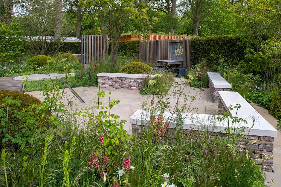 the cloudy bay garden at the rhs chelsea flower show 2015 rhs gardening