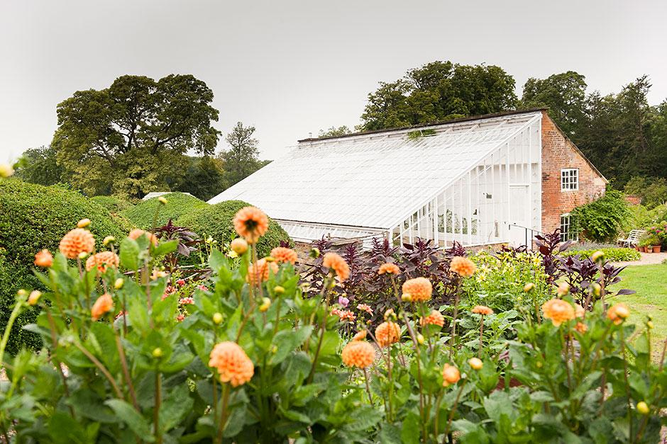 Dahlias at Kelmarsh Hall. Image: Sarah Vivienne Photography