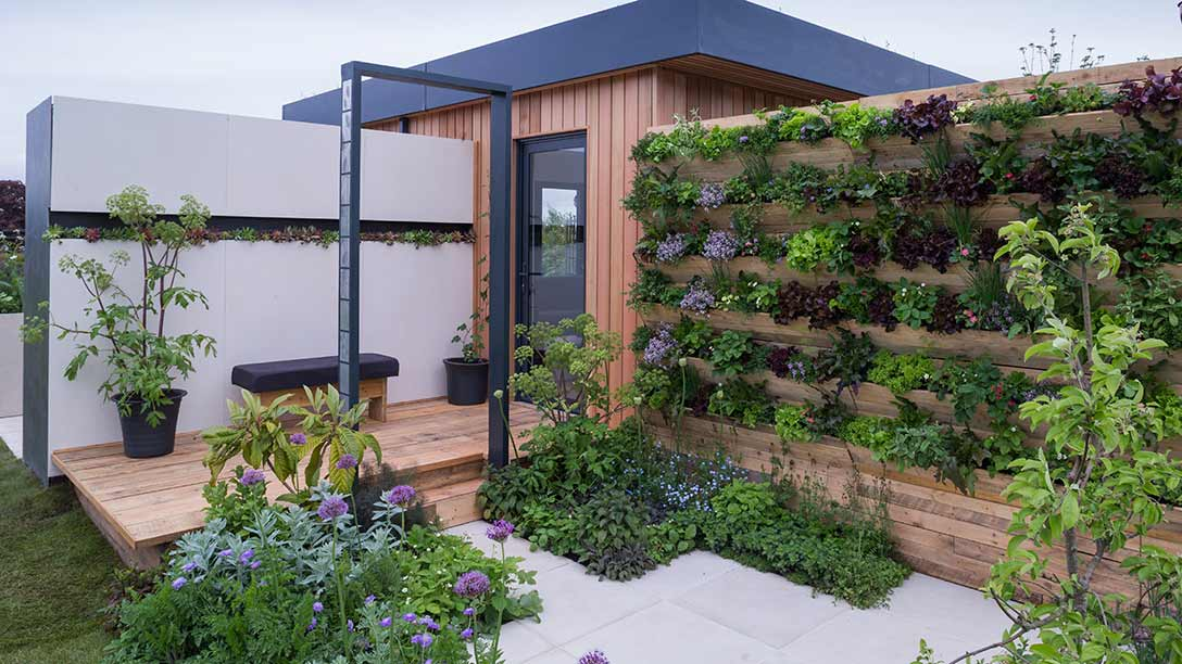 See The Salad Deck Garden At The RHS Malvern Spring Festival, 2018 ...
