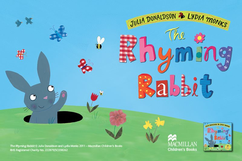 Hop about with the Rhyming Rabbit