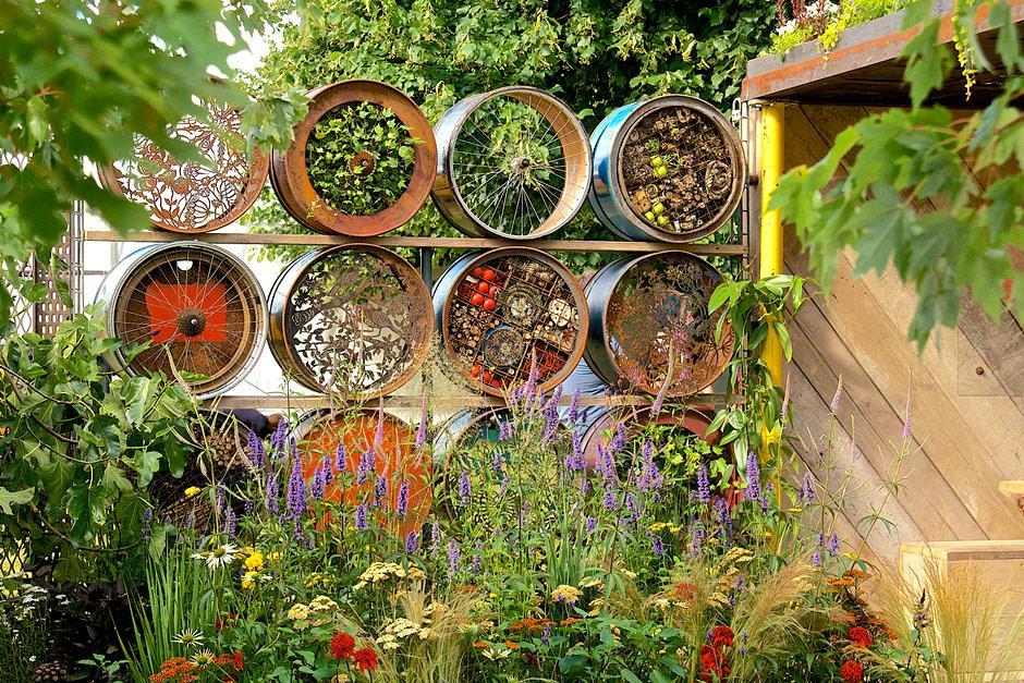 submitting a garden design to rhs flower show cardiff    rhs gardening