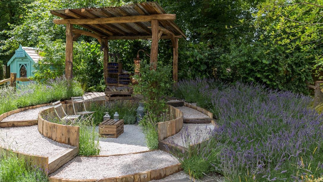 See The Lavender Garden At RHS Hampton Court Palace Flower Show / RHS  Gardening