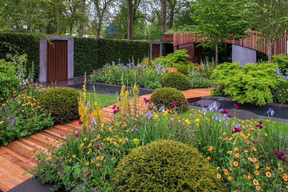 The Homebase Garden At The Rhs Chelsea Flower Show 2015