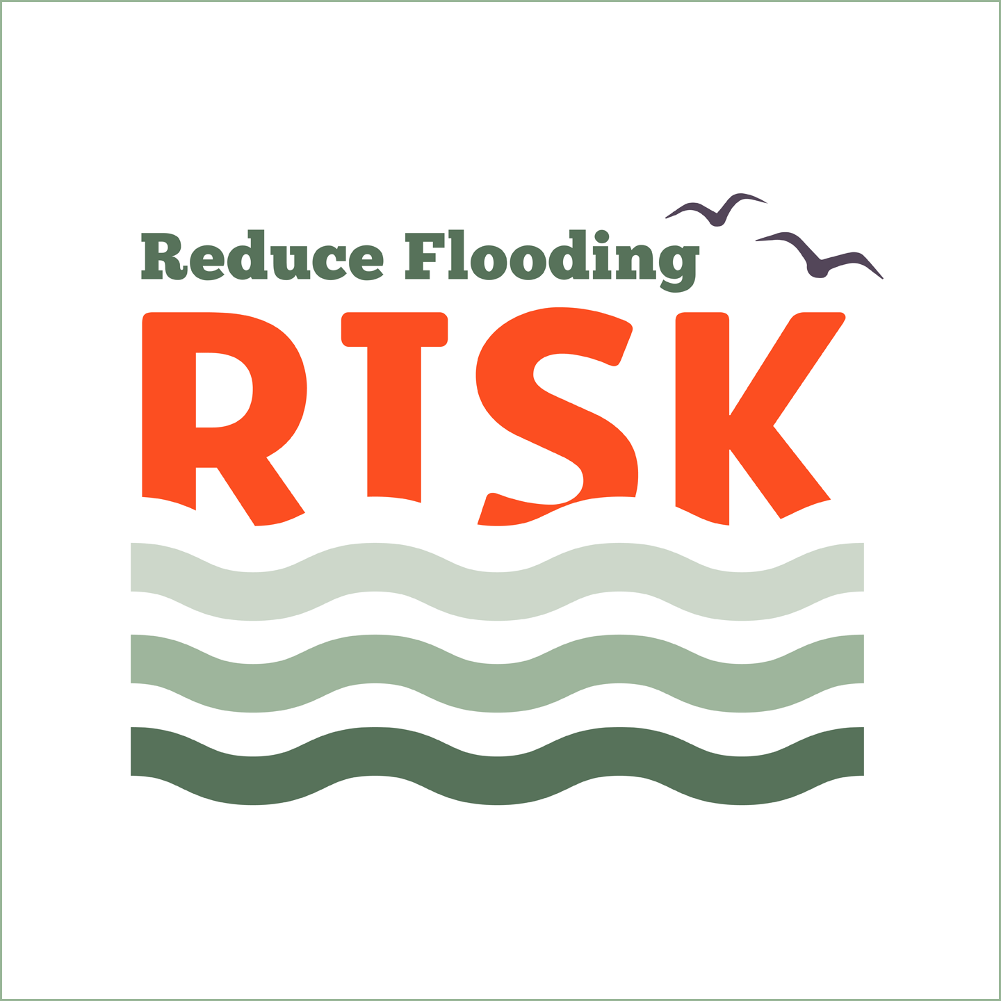 Plants and trees help to reduce the risk of flooding
