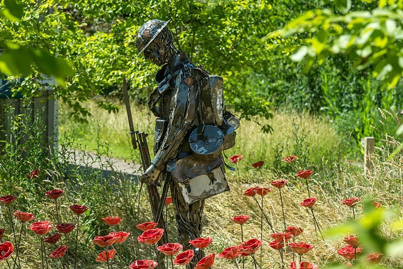 Unknown solider at Rosemoor