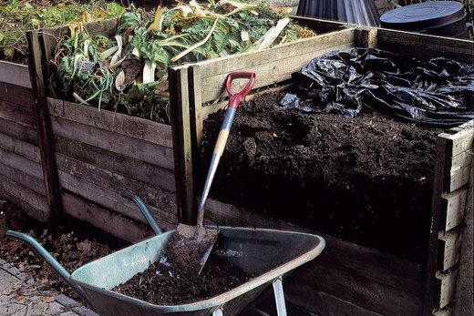 composting waste material