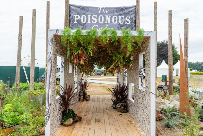 The entrance to the Poisonous Garden