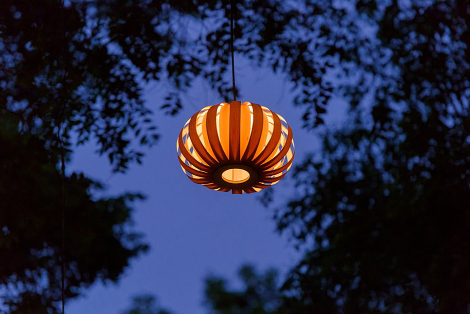 Artisan lighting in Ranelagh Gardens