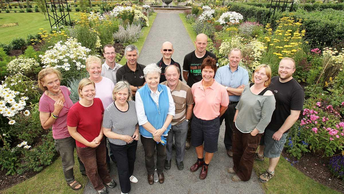 Community volunteer gardening group