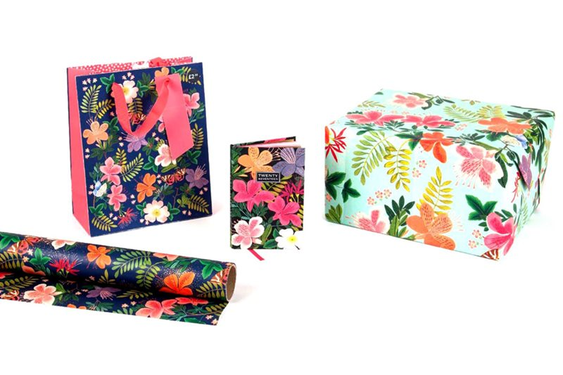 Tigerprint stationery range