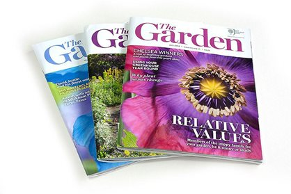 Issues of The Garden magazine