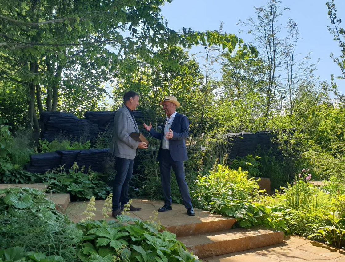 rhs back to nature garden to go from rhs chelsea flower show to