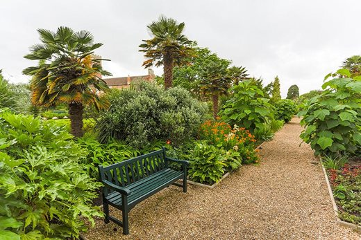 Subtropical border, Cannington Walled Gardens