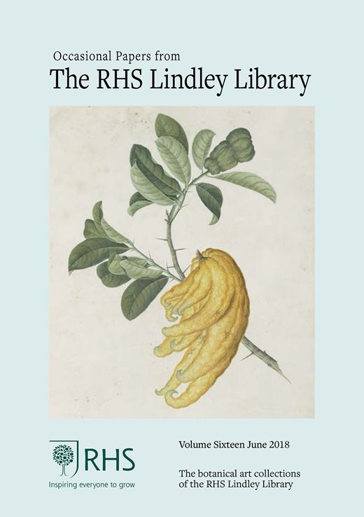 RHS Lindley Library Occasional Papers