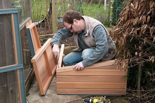 building a coldframe