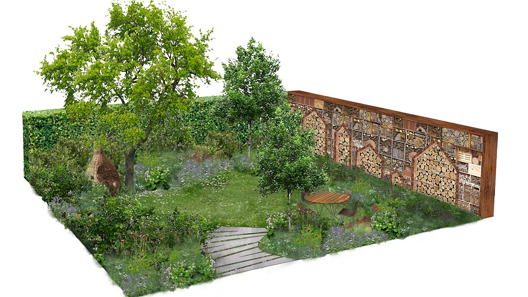 The Family Garden at RHS Hampton Court Palace Flower Show / RHS ...