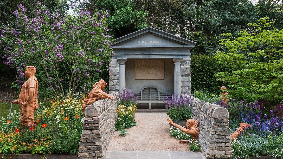 RHS Chelsea Flower Show   Meningitis Now Futures Garden   ARTISAN GARDENS    Silver Gilt Medal Winner